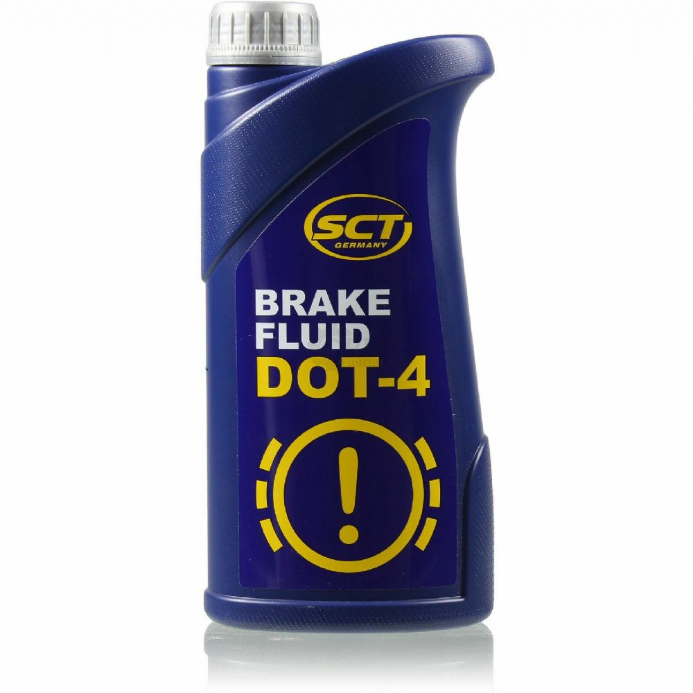 DOT 4 Quality Synthetic Brake And Clutch Fluid 1 litre=910g SCT Germany (MANNOL)
